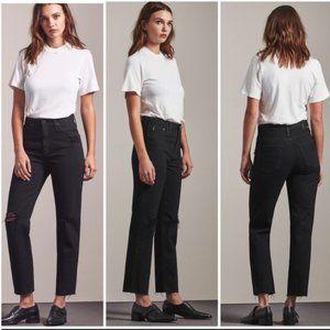 AG The Phoebe High-Rise Vtg Tapered Leg Jeans